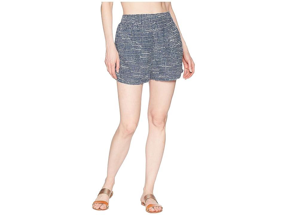 Prana Tessie Shorts (Blue Thatch) Women