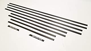 AMG Style Carbon Fiber Side Molding Inserts Set – Moulding Trim – for Mercedes-Benz G-Class W463 G500 G55 G63 G65 – 10 pcs kit