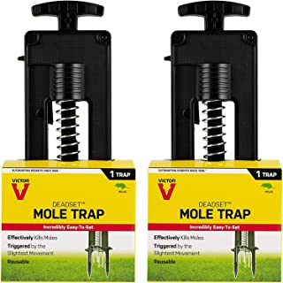Victor 2 Pack of M9015 Deadset Mole Traps