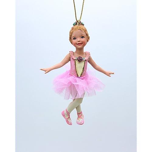 Personalized Christmas Ornament//Ballet//I Love Ballet// Ballerina