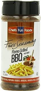 Gourmet Fries Seasonings Bottle, Flame Grilled BBQ, 9 Ounce