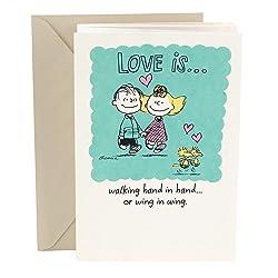 Hallmark Anniversary Card (Peanuts Vignette)