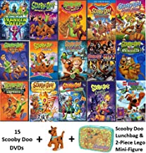 Ultimate Scooby-Doo 15 Movie DVD Collection with Bonus Lunchbag & Mini-Figurine (Frankencreepy/Favorite Frights/Circus Monsters/Legend of the Vampire/Samurai Sword/Vampires/Goes to Hollywood/Mystery M