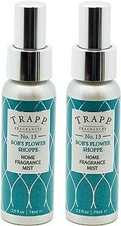 Trapp Home Fragrance Mist, No. 13 Bob's Flower Shoppe, 2.5-Ounce (2-Pack)