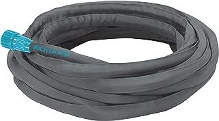 Aqua Joe AJFJH50 50-Foot Ultra Flexible Kink Free Fiberjacket Garden Hose