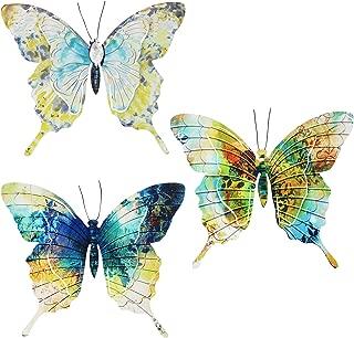 Sigris - Aplique Pared x3 Mariposas 32 cm