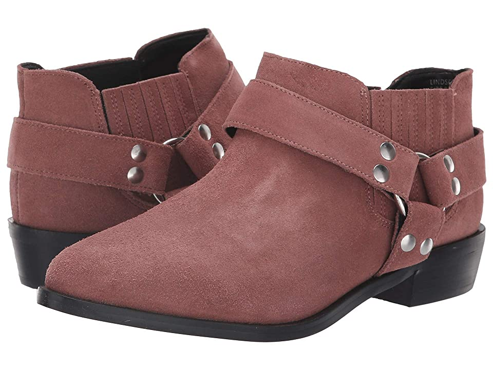 JANE AND THE SHOE Lindsey (Blush Suede) Women