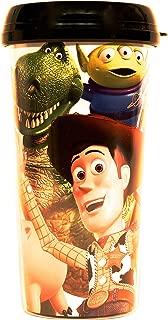 Silver Buffalo TO6387 Disney Pixar Toy Story Group Shot Plastic Travel Mug, 16-Ounces