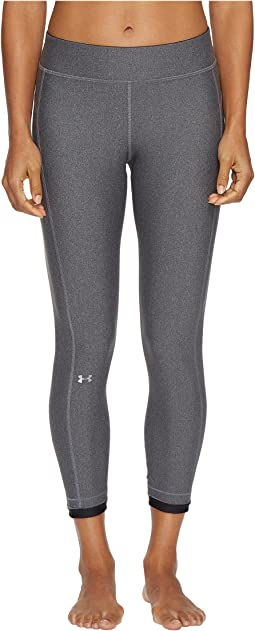 a772fce19a Charcoal Light Heather/Black/Metallic Silver. 123. Under Armour. HeatGear®  Armour Ankle Crop Pants