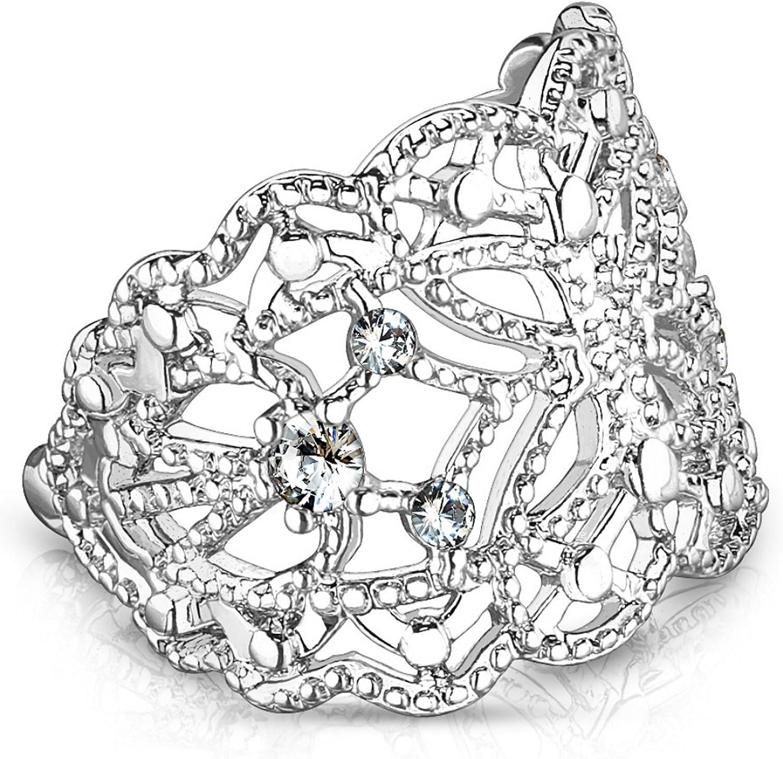 Filigree Butterfly Brass Ear Cuff Non-Piercing Cartilage Jewelry