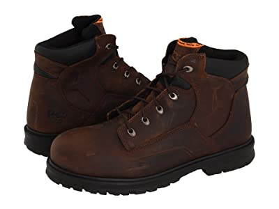 Timberland PRO Magnus 6 Steel Toe (Brown Oiled Nubuck Leather) Men