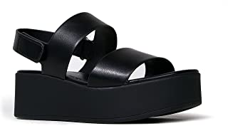 J. Adams Casey Platform Sandal – Comfortable Double Band Ankle Strap Flatforms