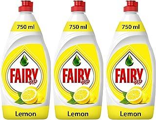 Fairy, Lemon, Hand Dishwashing Liquid, 750ML, Triple Pack