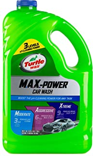 Turtle Wax Max-Power Car Wash Shampoo, 2.95L