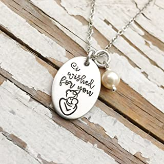 i wished for you necklace