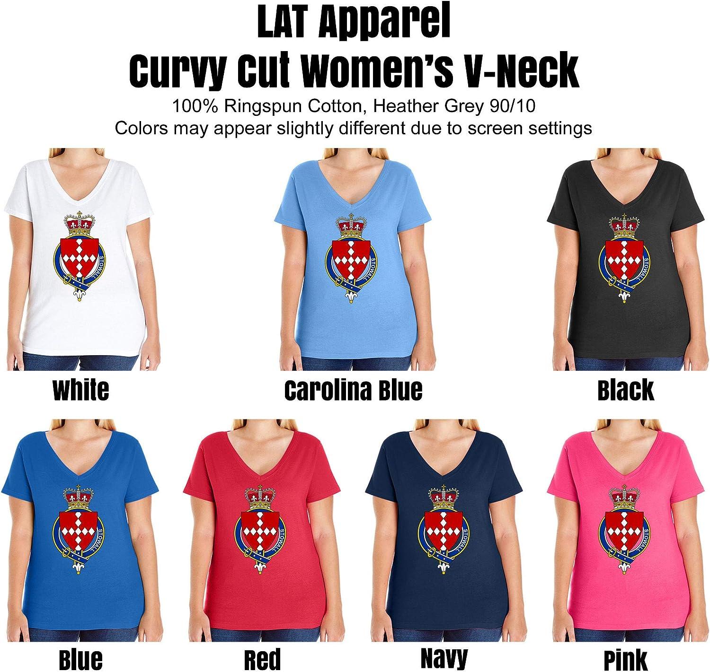 HARD EDGE DESIGN Women's English Garter Family Stowall T-Shirt