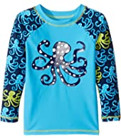 Hatley Kids - Deep Sea Octopus Rashguard (Toddler/Little Kids/Big Kids)