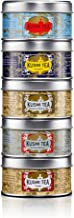 (KUSMI TEA) クスミティー ロシアン ブレンド アソートメント パック (25g×5缶) [正規輸入品]