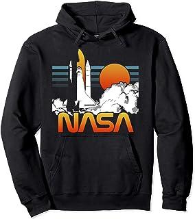 NASA Dark Rocket Launch Logo Sweat à Capuche