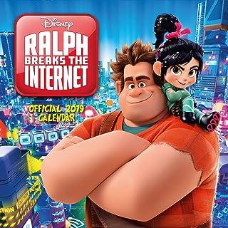 Ralph Breaks the Internet: Wreck-It Ralph 2 Official 2019 Calendar - Square Wall Calendar Format