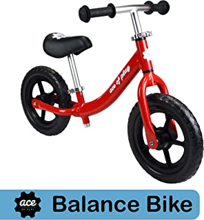 Ace of Play Balance Bike - The Lightest Balance Bike Available - Perfect for Kids 18 Months to 5 Years