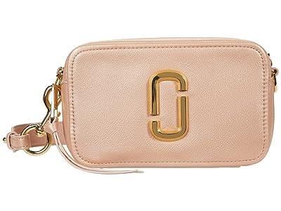 Marc Jacobs The Softshot 21 Crossbody (Pearl Blush) Handbags