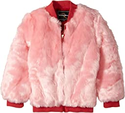 Rock Your Baby - Debbie Faux Fur Bomber (Toddler/Little Kids/Big Kids)