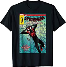 Marvel Spider-Man Spiderverse Collectors Comic Cover T-Shirt