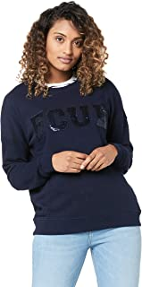French Connection Women's FCUK Sequin Sweat