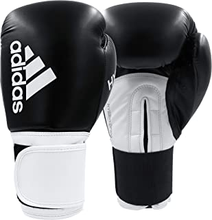 adidas Hybrid 100 Boxing Gloves for Women - Kickboxing, MMA, and Boxing Speed Training and Fitness Gloves - Dynamic Fit