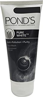 Pond's Pure White Face Wash - Anti Pollution + Purity, 200g Tube
