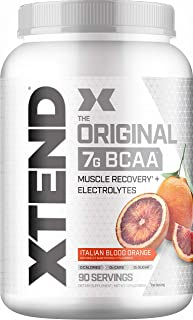 XTEND Original BCAA Powder Italian Blood Orange - Sugar Free Post Workout Muscle Recovery Drink with Amino Acids - 7g BCAA...
