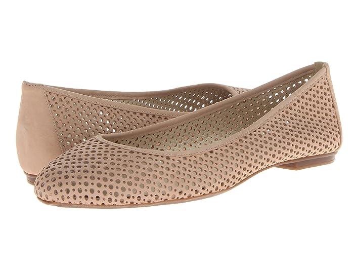 French Sole  League (Desert Nubuck) Womens Flat Shoes
