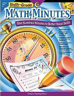 Creative Teaching Math Minutes, 6th grade activity workbook (100 minutes to better basic skills)