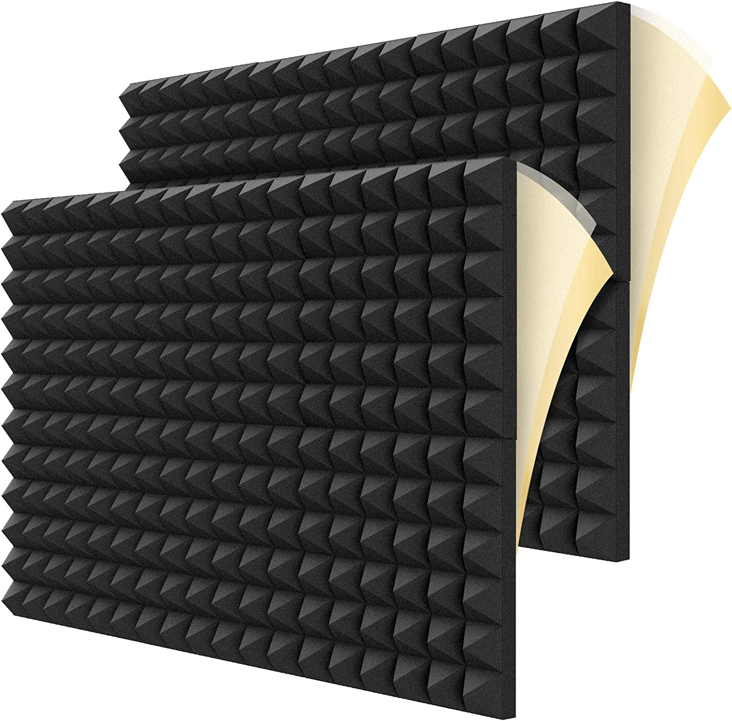 12 Pack Upgraded Colorado Springs Mall Fast Expand Pane Max 63% OFF Sound Self-adhesive Foam Proof