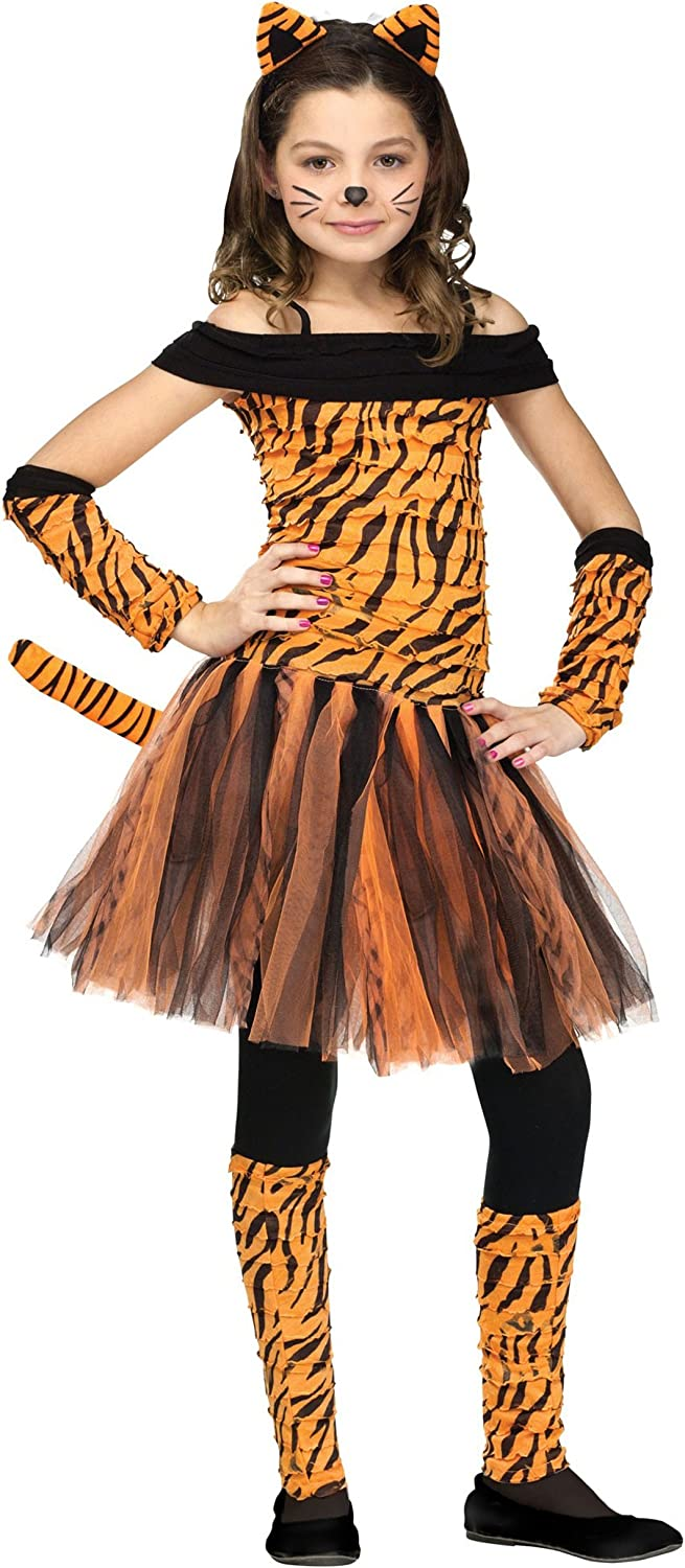 70% OFF Outlet Fun World Max 57% OFF Girls Tigress Costume