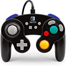 PowerA Wired Controller for Nintendo Switch GameCube Style: Black Nintendo Switch