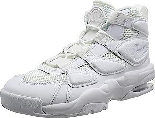Nike Men's Air Max2 Uptempo '94 White/White White Basketball Shoe 10 Men US