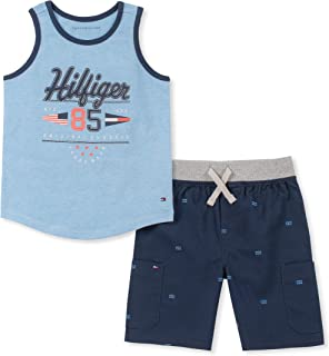 Tommy Hilfiger Boys' 2 Pieces Tank Top Shorts Set