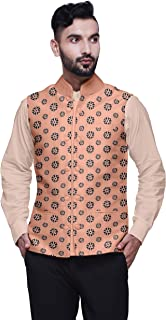 Atasi Party Wear Jacket for Men Printed Casual Coat Elegant Wedding Blazer