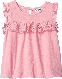 Splendid Littles - Short Sleeve Flutter Sleeve Knit Top (Infant)