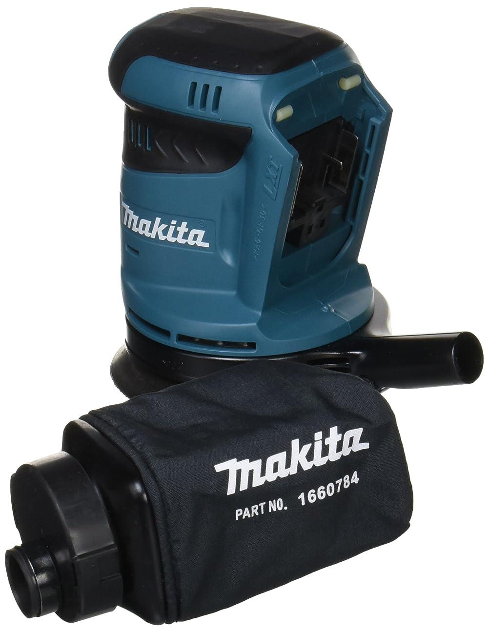 マキタ(Makita)  充電式ランダムオービットサンダ 14.4V (本体のみ/バッテリー?充電器別売) ペーパー寸法 125mm BO140DZ