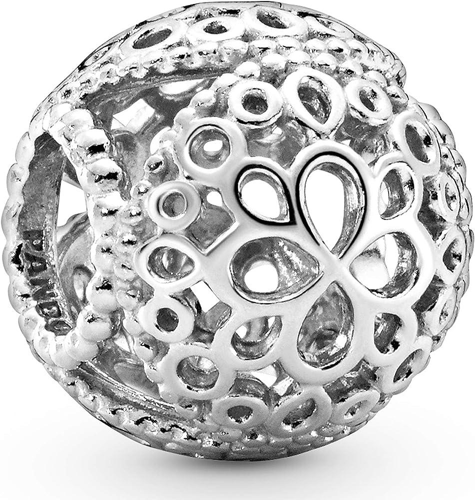 Pandora. bead charm ,ciondolo per donna,in  argento 797853