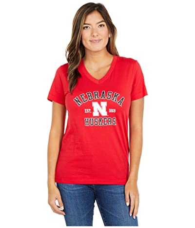Champion College Nebraska Cornhuskers University 2.0 V-Neck T-Shirt