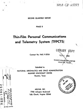 Thin-Film Personal Communications and Telemetry System /TFPCTS/, phase B Quarterly report, 24 Jun. - 24 Sep. 1966