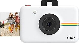 【データも保存できる】ポラロイド Snap デジタルインスタントカメラ (ホワイト) プリンタ内蔵 ZINK フォトペーパー対応 (White)