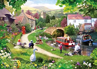 Gibsons Life in The Slow Lane Jigsaw Puzzle (1000-Piece)