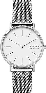 Skagen Signatur Women's White Dial Stainless Steel Analog Watch - SKW2785