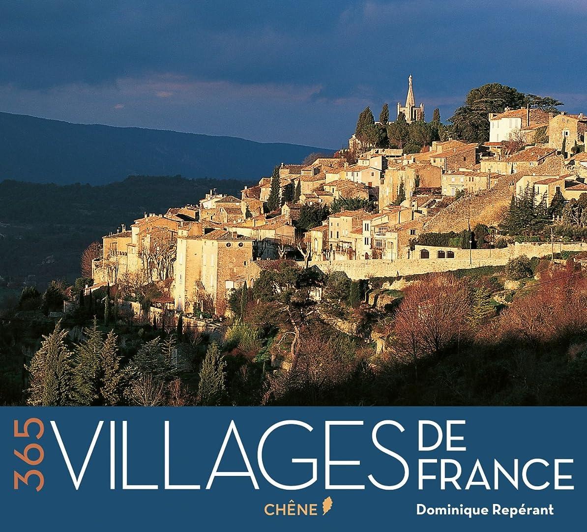 申し立てられた軽蔑する詩人Calendrier perpétuel 365 Villages de France