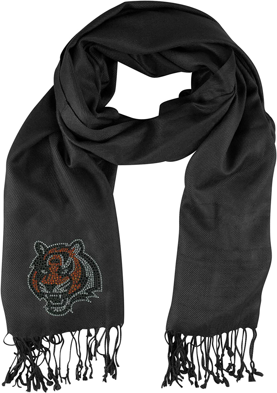 service Littlearth NFL Cincinnati Bengals Pashi Directly managed store Scarf Fan One-Size Bla